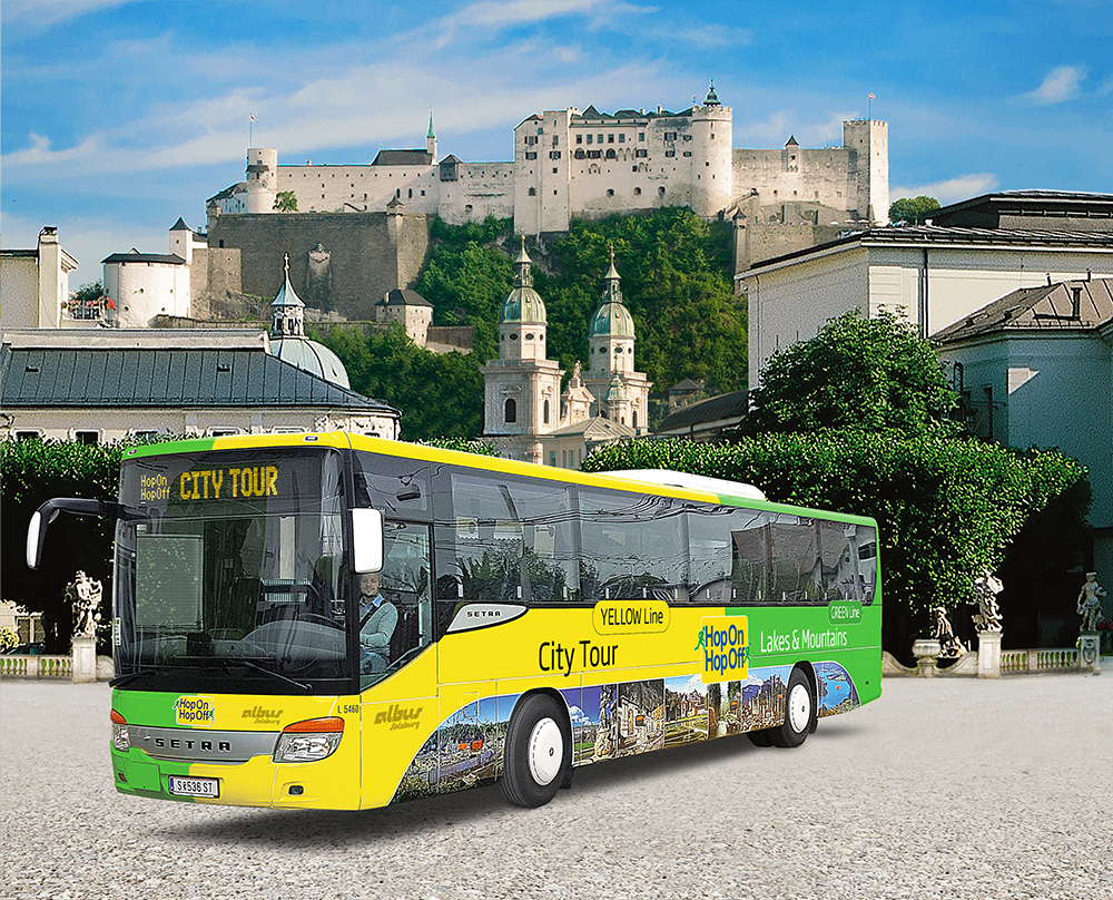 Salzburg Sightseeing Hop on Hop off bus tours