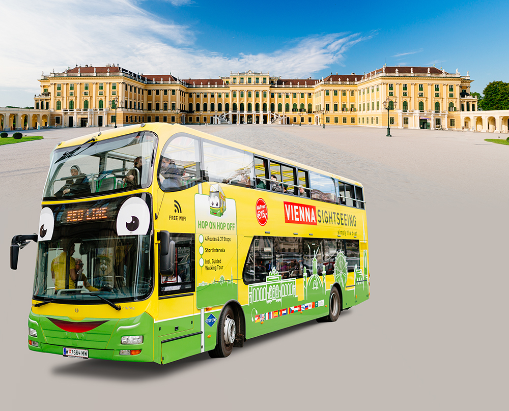 Vienna Sightseeing Hop on Hop off bus tours